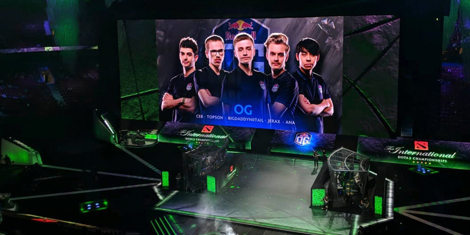 На Aegis of Champions появились имена игроков команды OG