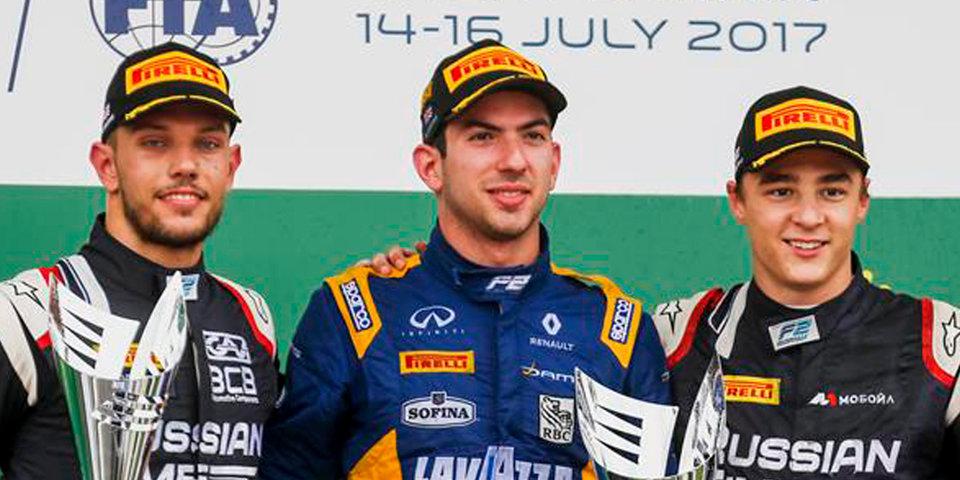 Маркелов стал третьим во второй гонке в Сильверстоуне