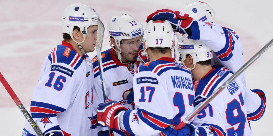 СКА – лидер рейтинга клубов КХЛ в интернете, ЦСКА – вне топ-10