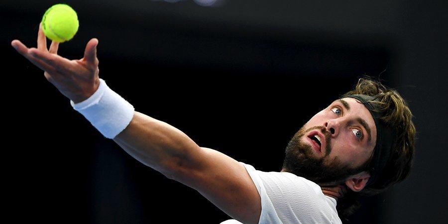 Басилашвили поднялся на 19 позиций в чемпионской гонке ATP, тройка россиян по-прежнему в топ-5