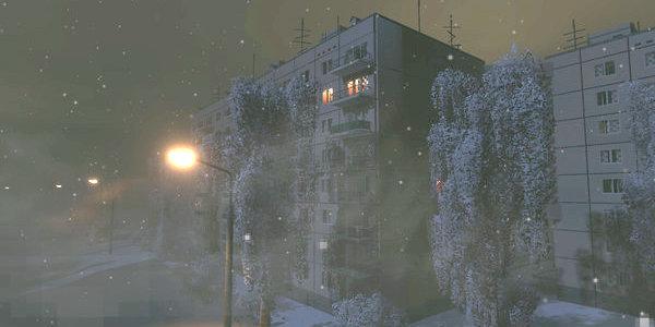 Бесконечная зима, тоска и одиночество. Появился симулятор жизни в российской многоэтажке