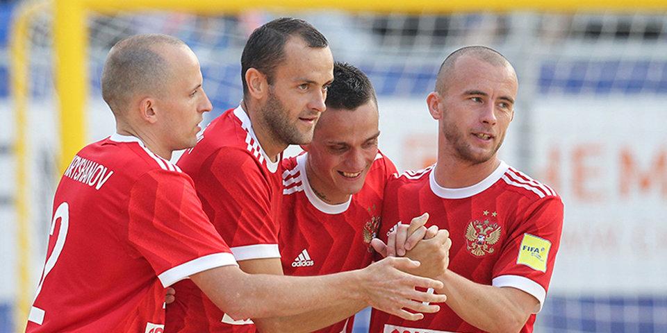 Сборная России обыграла Белоруссию в Москве