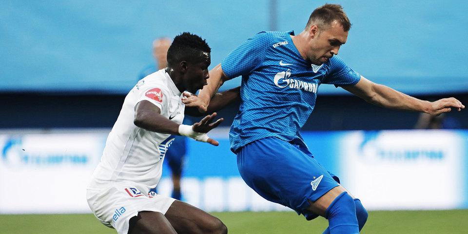 «Зенит» одержал волевую победу над «Мельде» в квалификации Лиги Европы