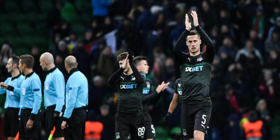 «Краснодар» не смог обыграть «Байер» в ответном матче, но все равно вышел в 1/8 финала Лиги Европы