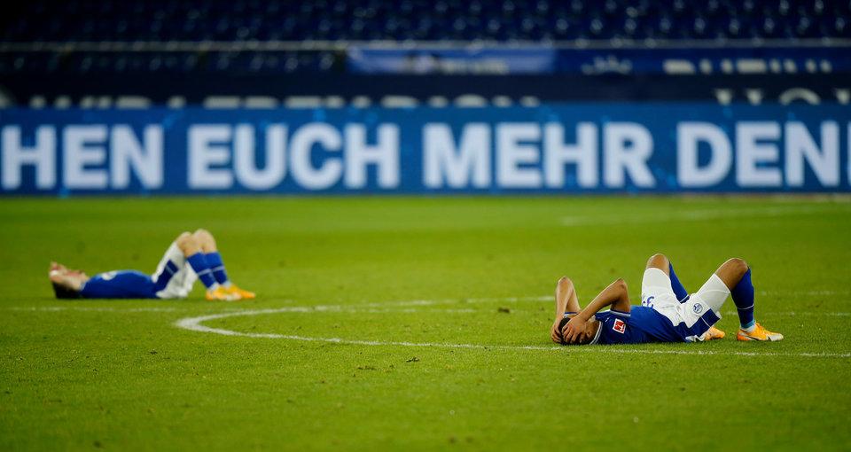 «Шальке» проиграл «Герте» и продлил серию без побед до 14 матчей