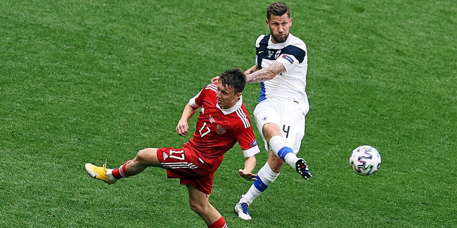 Сборная России победила на Евро впервые с 2012 года