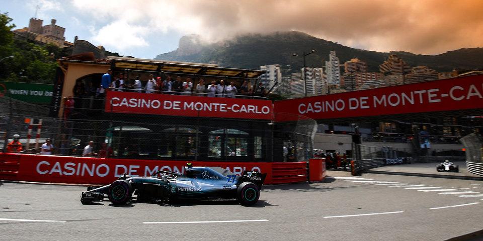 Квалификация Гран-при Монако. Онлайн
