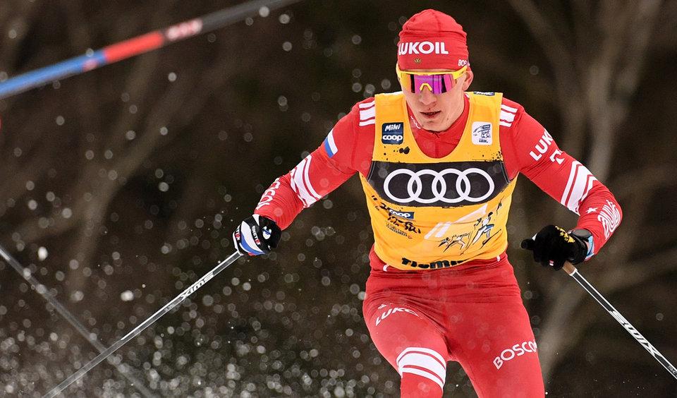 Большунов стал пятым в индивидуальной гонке на 15 км на первом этапе «Ски Тура»
