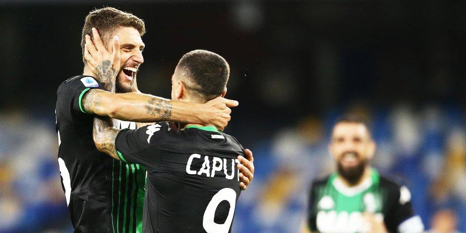«Сассуоло» вырвал победу в матче с «Болоньей»