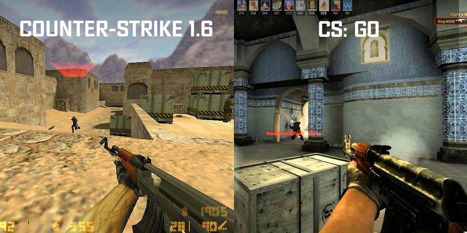 Чем CS:GO отличается от «контры» детства?