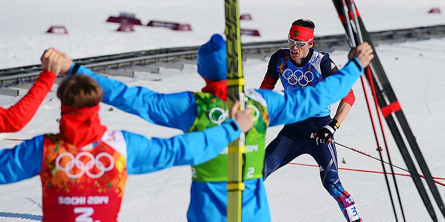 Туман помешал биатлону, серебро России в лыжной эстафете. Что происходило на Олимпиаде в Сочи 16 февраля