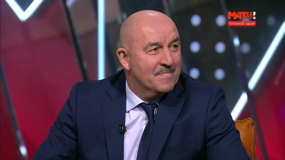 «Футболистам не надо стесняться заявлять о себе главному тренеру». Смотри, что сказал Черчесов в эфире «Матч ТВ»