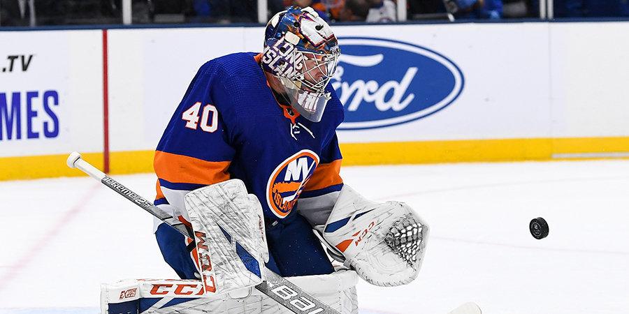 Варламов провел 500-й матч в НХЛ