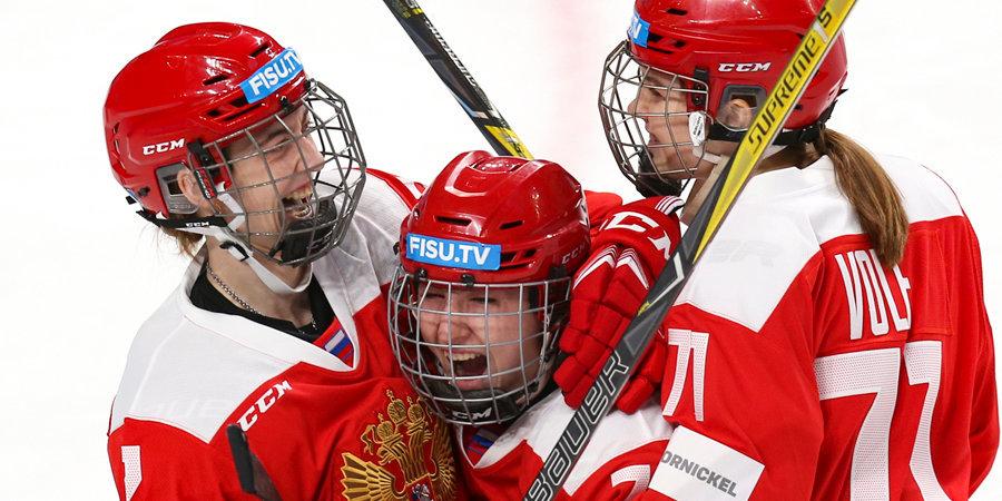 Универсиада-2019. День 9-й. Россия взяла золото женского хоккейного турнира. Канада бита второй раз за день