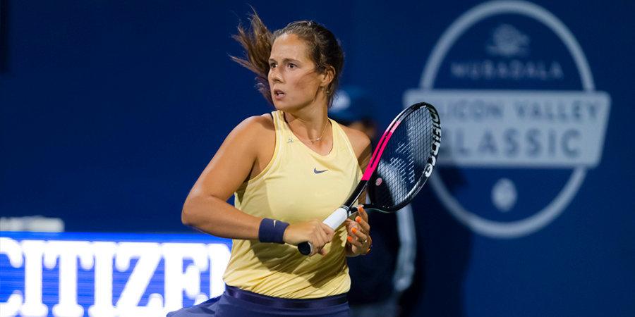 Касаткина проиграла в первом круге турнира в Цинциннати