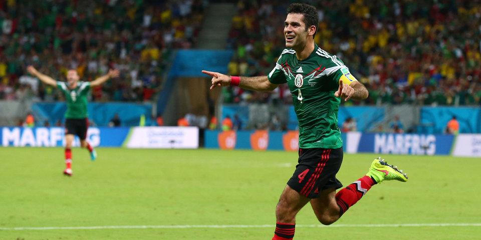 Маркес стал третьим футболистом в истории, сыгравшим на пяти чемпионатах мира