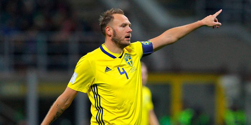 Гранквист — лучший игрок матча Швеция — Корея в Нижнем Новгороде