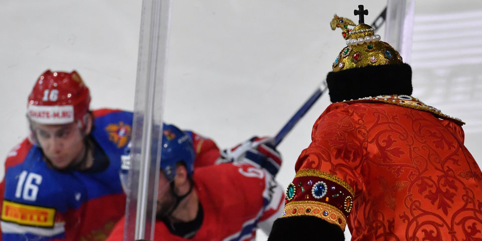 День главного матча хоккейного чемпионата мира. Онлайн