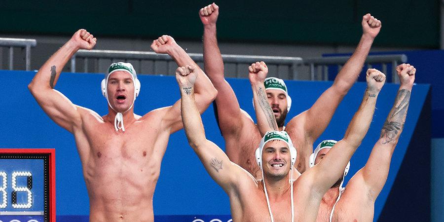 Венгерские ватерполисты стали бронзовыми призерами Олимпийских игр