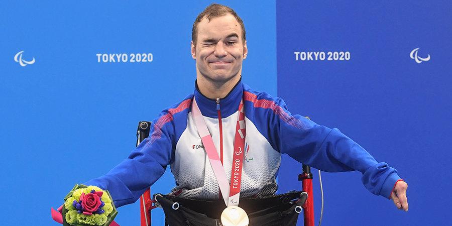 Даниленко — бронзовый призер Паралимпиады на 50 метров на спине