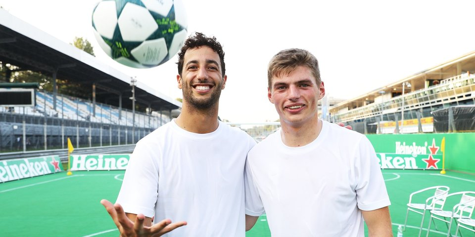 Гасли пришел в гонки из футбола, Феттель болеет за середняка Бундеслиги, а Леклер — фанат клуба Головина