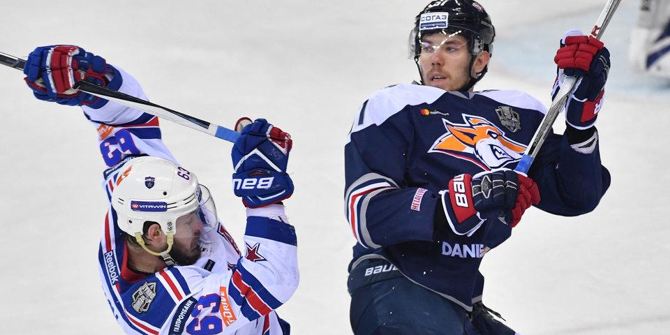 «Магнитка» вернула двукратного обладателя Кубка Гагарина из НХЛ