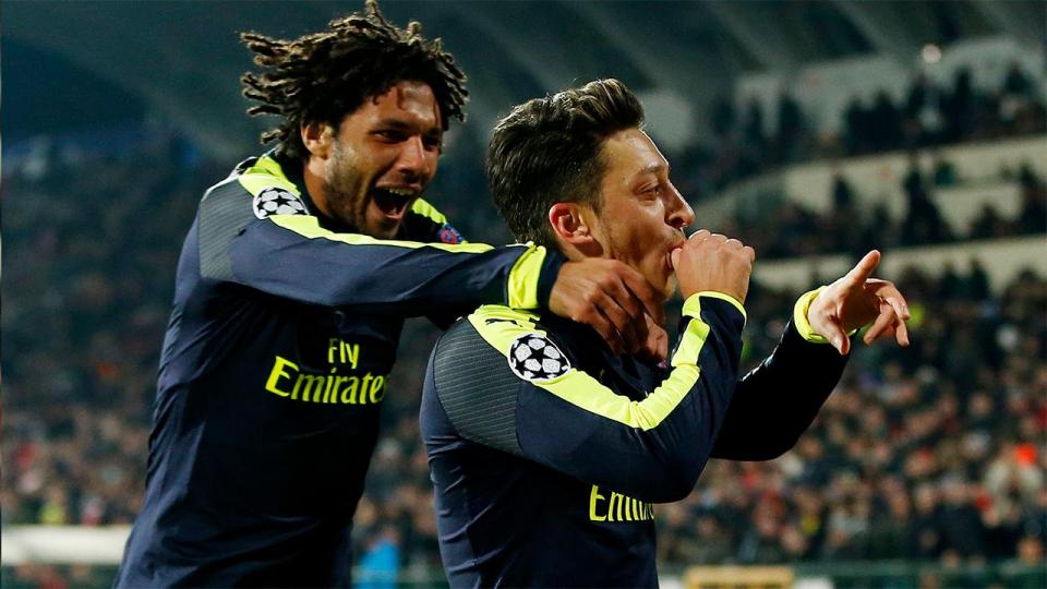 «Арсенал» добился волевой победы над «Лудогорцем», «ПСЖ» победил в Базеле