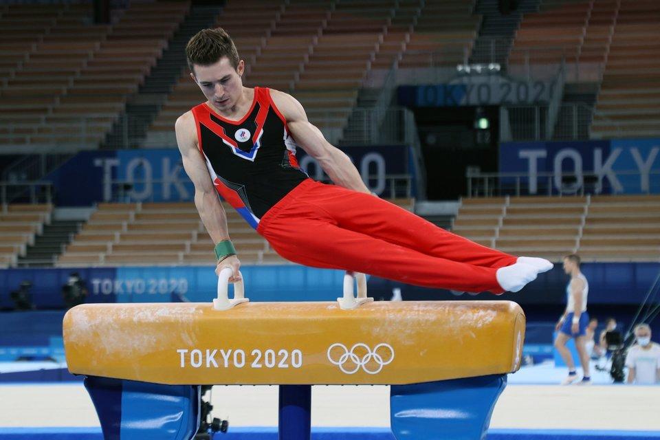 Британец Уитлок выиграл золото ОИ на коне, Белявский остался без медали