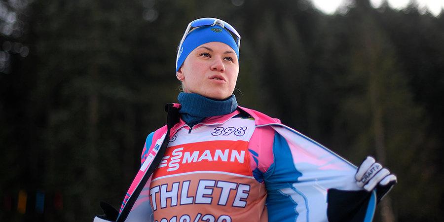 Кристина Резцова — в эфире «Матч ТВ»: «Я в хорошей форме, хотя в спринте было тяжелее ходом, чем в индивидуальной гонке»