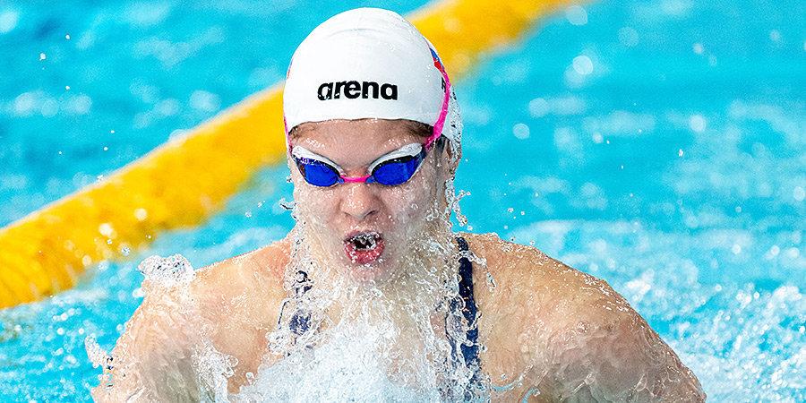 Каменева не квалифицировалась в полуфинал Олимпиады в стометровке вольным стилем