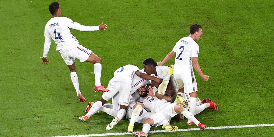 Франция отыгралась с 0:2 и вышла в финал Лиги наций! 5 голов и лучшие моменты полуфинала против Бельгии