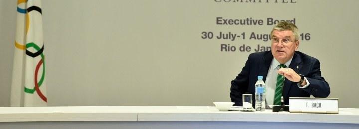 Глава МОК Томас Бах: «Сборной России нужно пройти трехступенчатый фильтр для допуска к Играм в Рио»