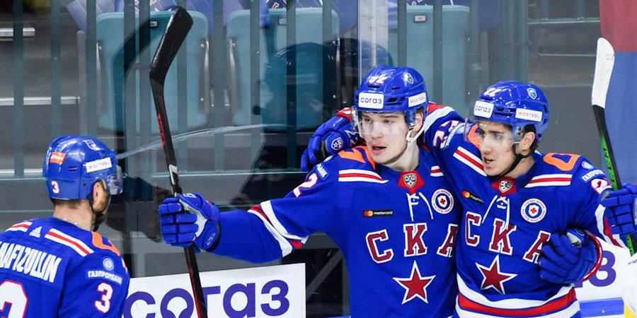 Шайба Хуснутдинова помогла СКА обыграть «Локомотив»