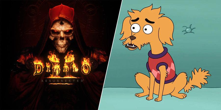 Blizzard начала войну с Fox из-за собачки Diablo. Пес из нового сериала может отнять большой куш у разработчика видеоигр