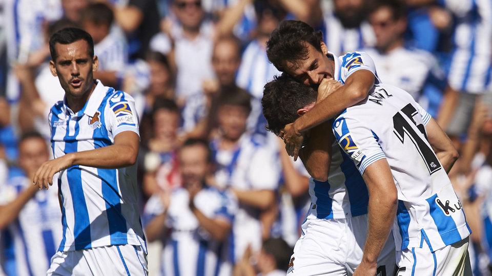 «Реал Сосьедад» победил «Атлетик» в баскском дерби