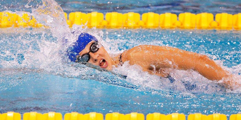 Шабалина — паралимпийская чемпионка в плавании баттерфляем на 100 метров, она выиграла с мировым рекордом