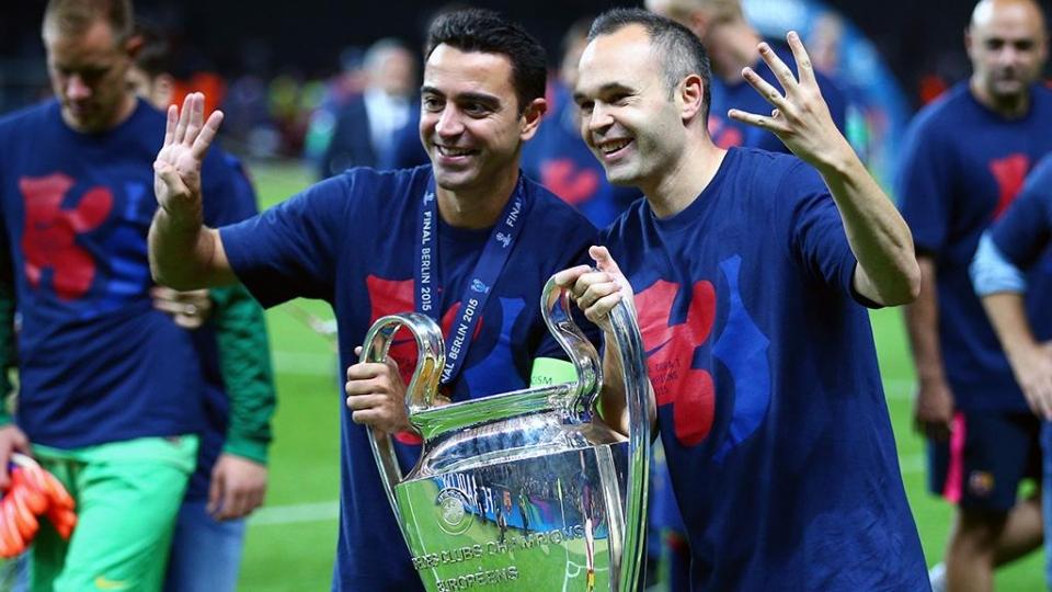 Иньеста будет выступать за «Барселону» до конца карьеры