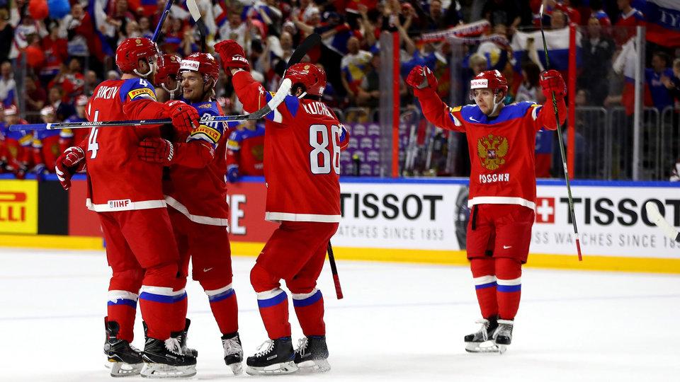 Сборная России одержала третью «сухую» победу подряд на чемпионате мира