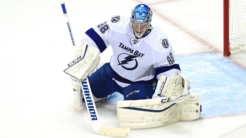 «Великая кража!» Василевский сделал сейв головой в НХЛ