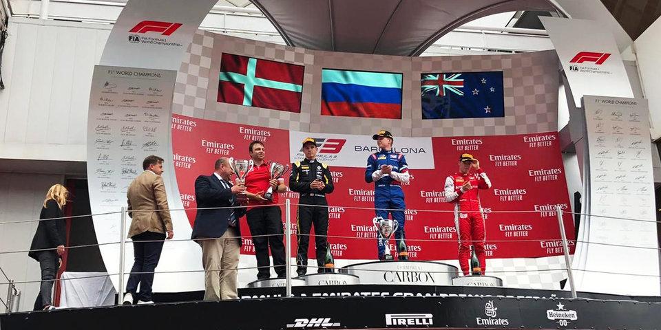 Россиянин Шварцман выиграл дебютную гонку сезона «Формулы-3»