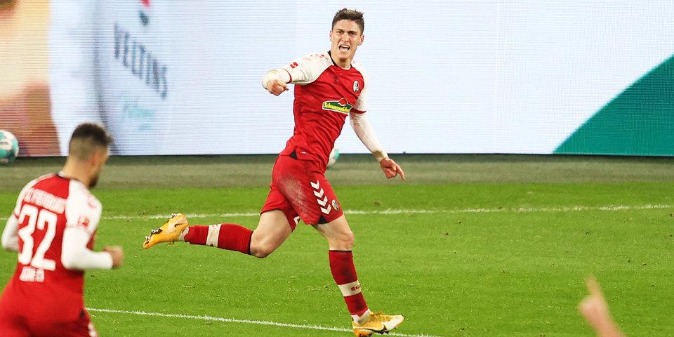 «Фрайбург» одержал победу над «Гертой»
