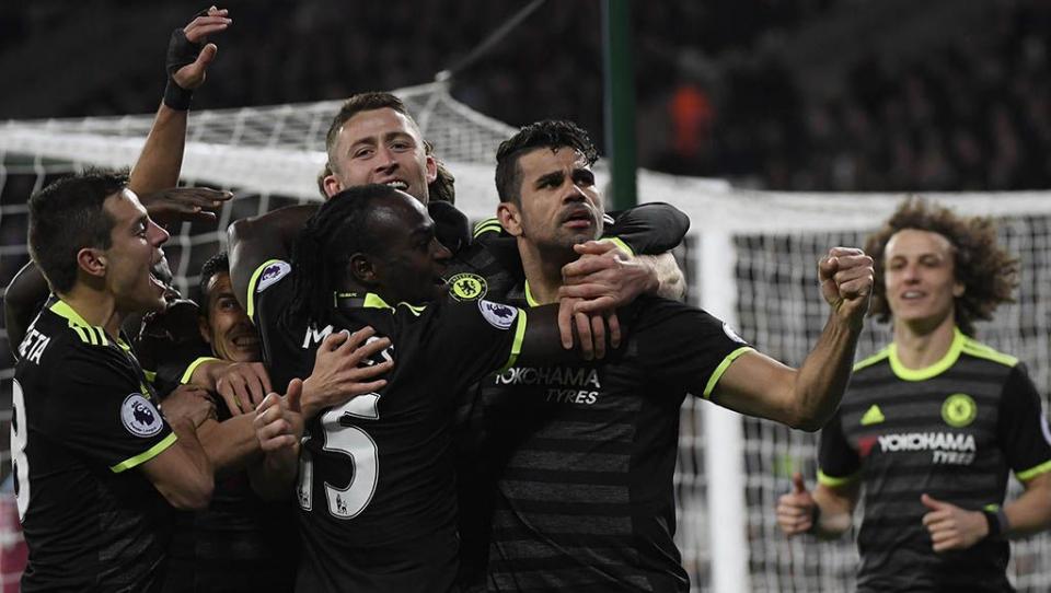 «Челси» взял три очка в дерби c «Вест Хэмом»