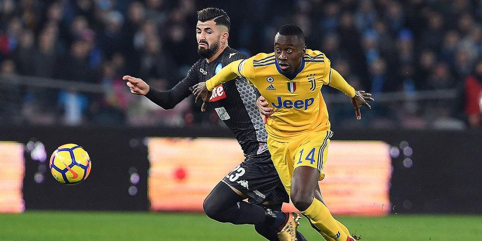 «Ювентус» нанес первое поражение «Наполи» в чемпионате Италии