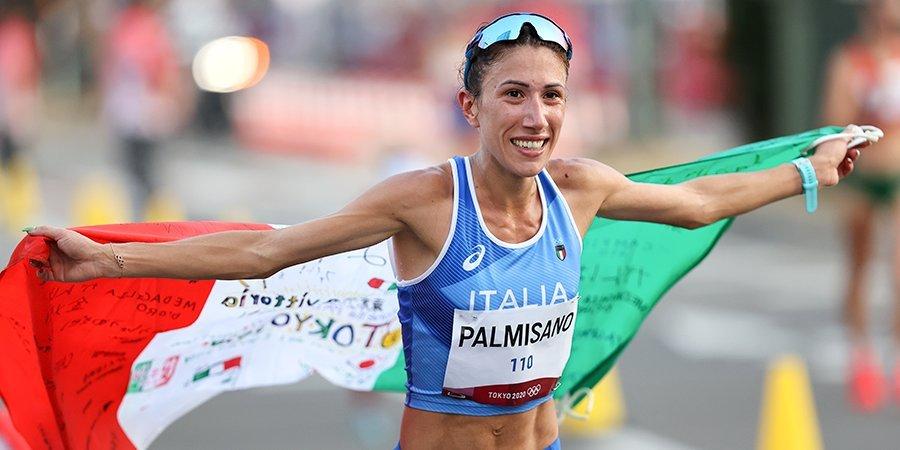 Итальянка Пальмизано победила в ходьбе на 20 км, Хасанова — 16-я