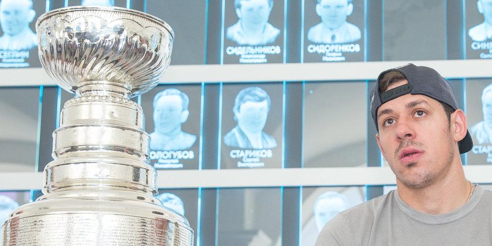 Малкин, Кросби и другие игроки «Питтсбурга» получили чемпионские перстни
