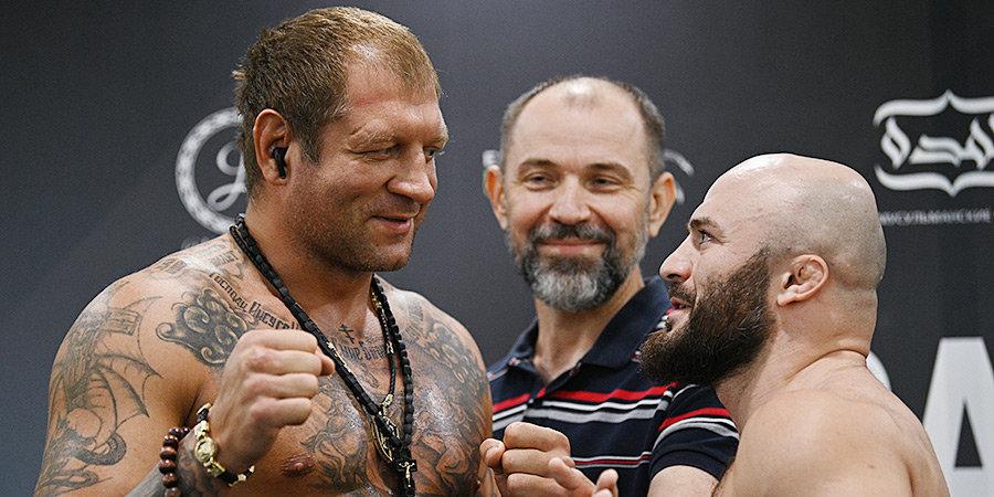 22 кг и 17 см разницы — средневес Исмаилов дерется с Емельяненко. 14 фактов про бой