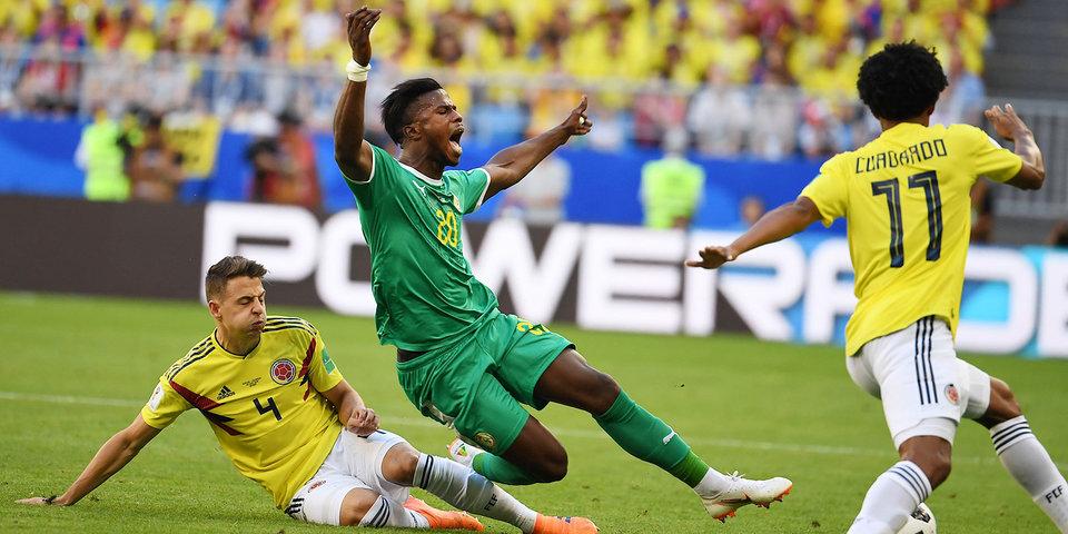 Сенегал исполнил самый драматичный вылет с ЧМ-2018. Лучшее из матча с Колумбией