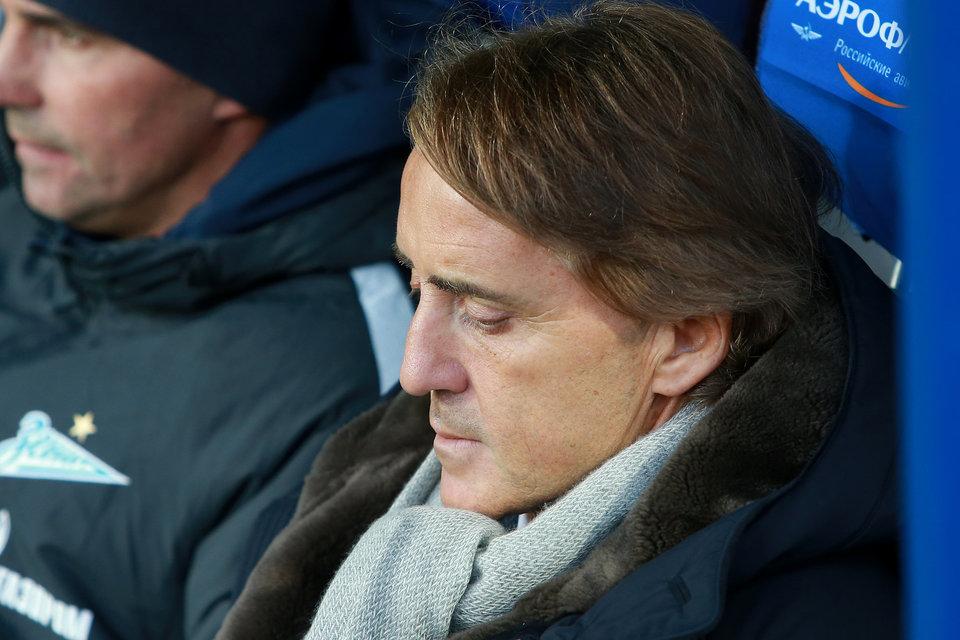 Роберто Манчини: «Зенит» должен был выигрывать»