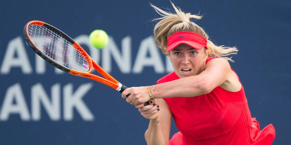 Украинка Свитолина возглавила чемпионскую гонку WTA