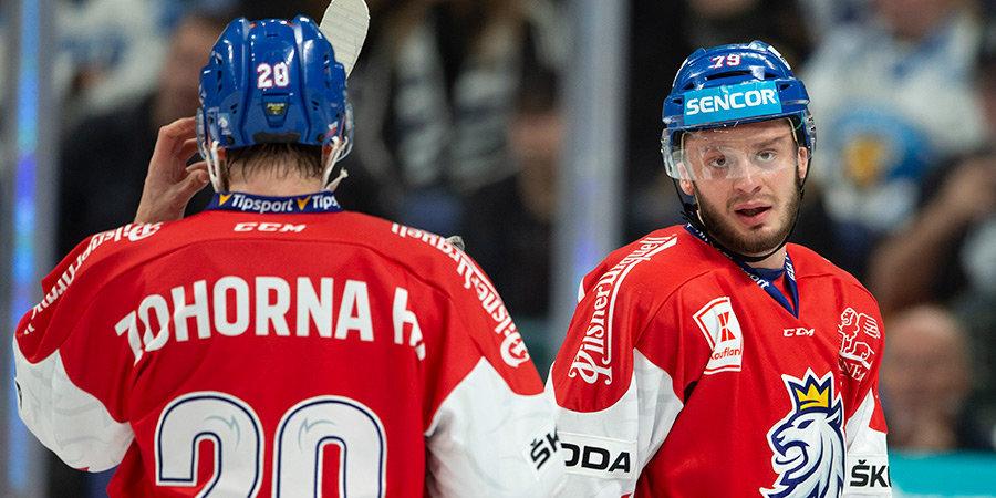 Чехия обыграла Швецию на Кубке Карьяла